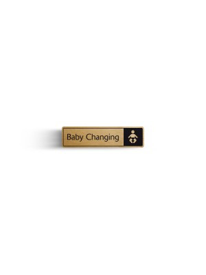 DM031 - Baby Change with Symbol Door Sign