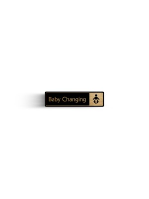 DM091 - Baby Change with Symbol Door Sign