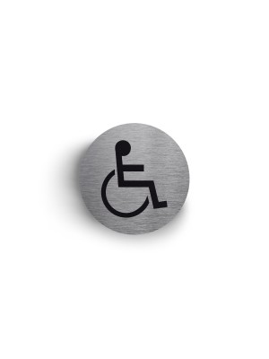 DS006 - Disabled 75mm Diameter Stainless Steel Disc