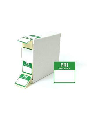 Friday 25x25mm Food Labels - DY048