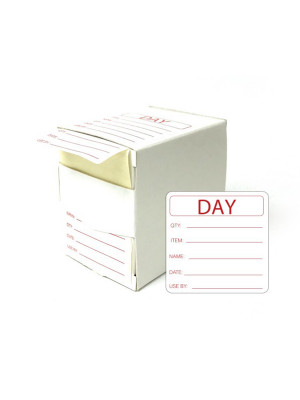 Food Preparation Labels - DY065