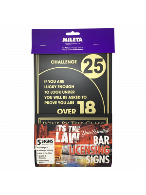 Essential Bar Licensing Sign Pack