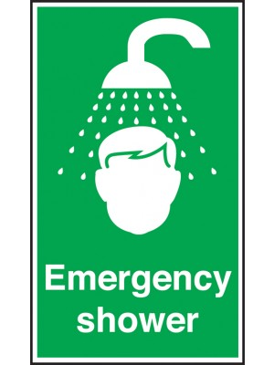 Emergency Shower Notice