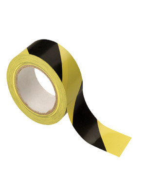 Hazard Warning Adhesive Floor Tape - FL013