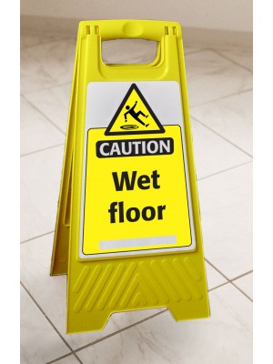 Wet Floor Portable Floor Stand - FL033