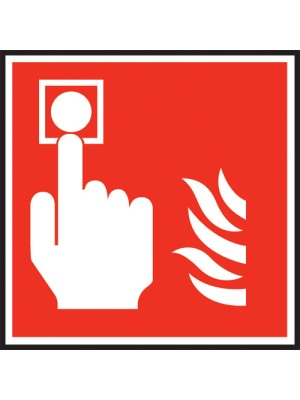 Fire Alarm Symbol Sign