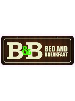 Bed & Breakfast Window Hanging Notice - GS002