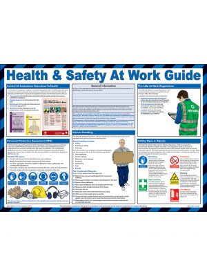 Health & Safety at Work Guide Poster - HSP02