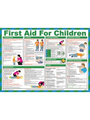 HSP13 - First Aid for Children Poster