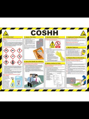 COSHH Poster - HSP20