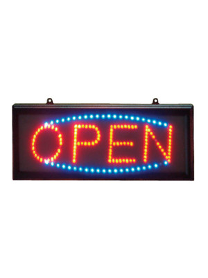 Open LED Sign - Multiple Sizes