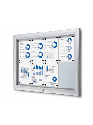 Outdoor Lockable Notice Boards (Various Sizes Available)
