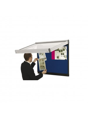 Non Illuminated Prestige Wall Mounted Display Case
