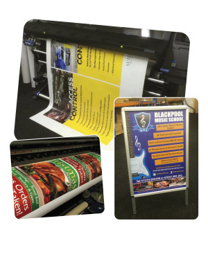 Waterproof Poster Printing Service - Multiple Sizes