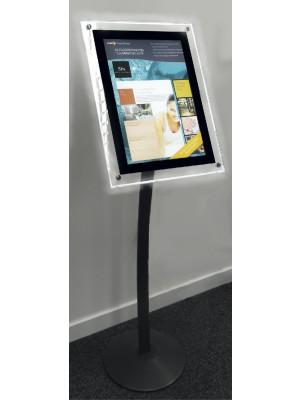 A3 Illuminated Hi-Light Menu Stand - SN094