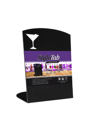 Cocktail Specials Angled Portrait Tabletop counter top message board lifestyle