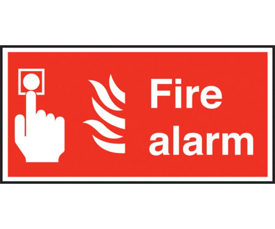Fire Alarm Text Amp Symbol Sign Fire Extinguisher Amp Equip
