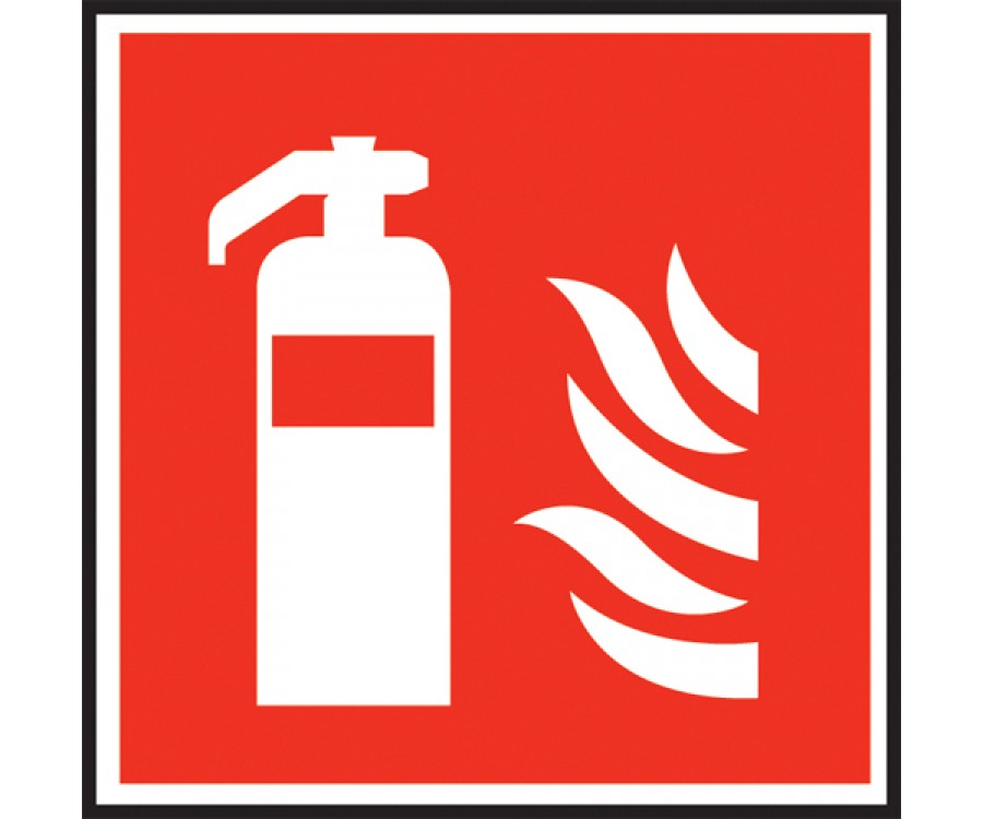 Fire Extinguisher Symbol Sign Fire Extinguisher Equip Signs