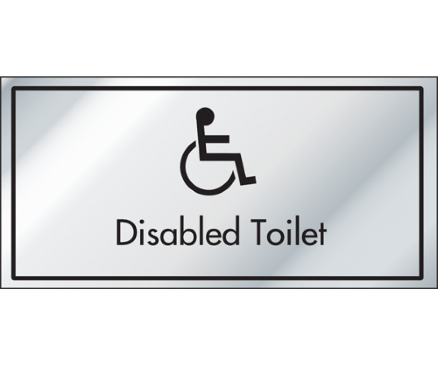 Disabled Toilet Information Door Sign - ID012 - Leisure Club Signs u0026 Notices - Bu0026B Hotel u0026 Leisure Signage - Product Range  sc 1 st  Mileta Signs & Disabled Toilet Information Door Sign - ID012 - Leisure Club Signs ...
