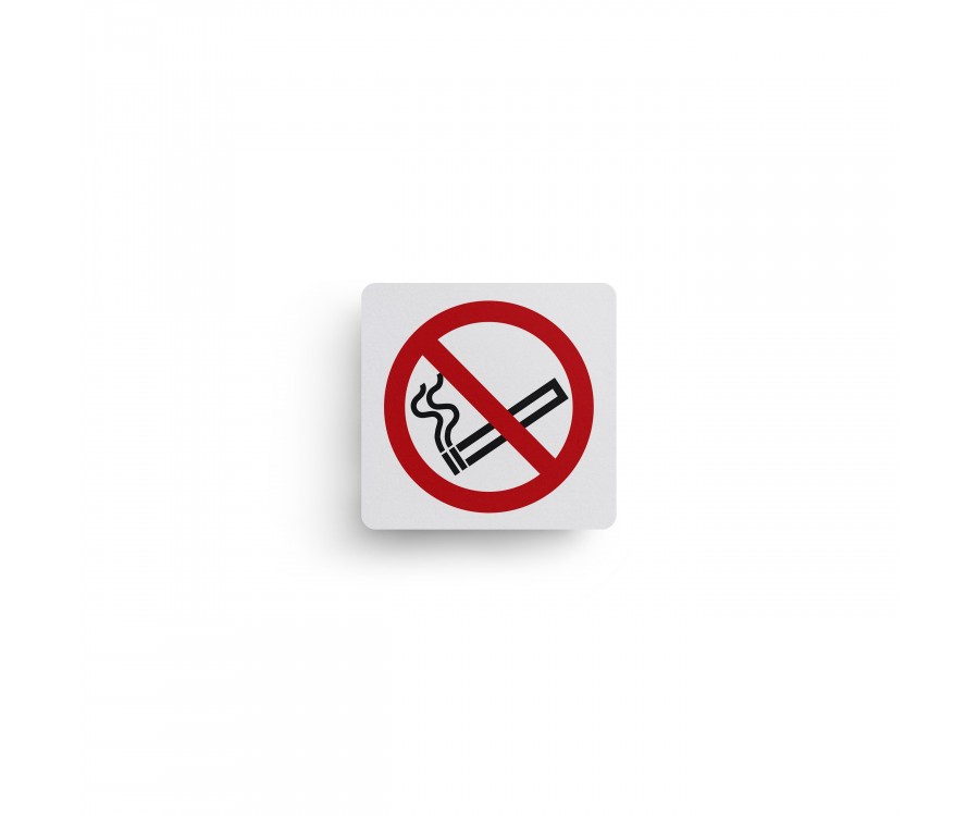 No Smoking Text Symbol Sign