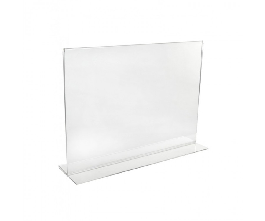 Double Sided Landscape Acrylic Poster Holders Multiple
