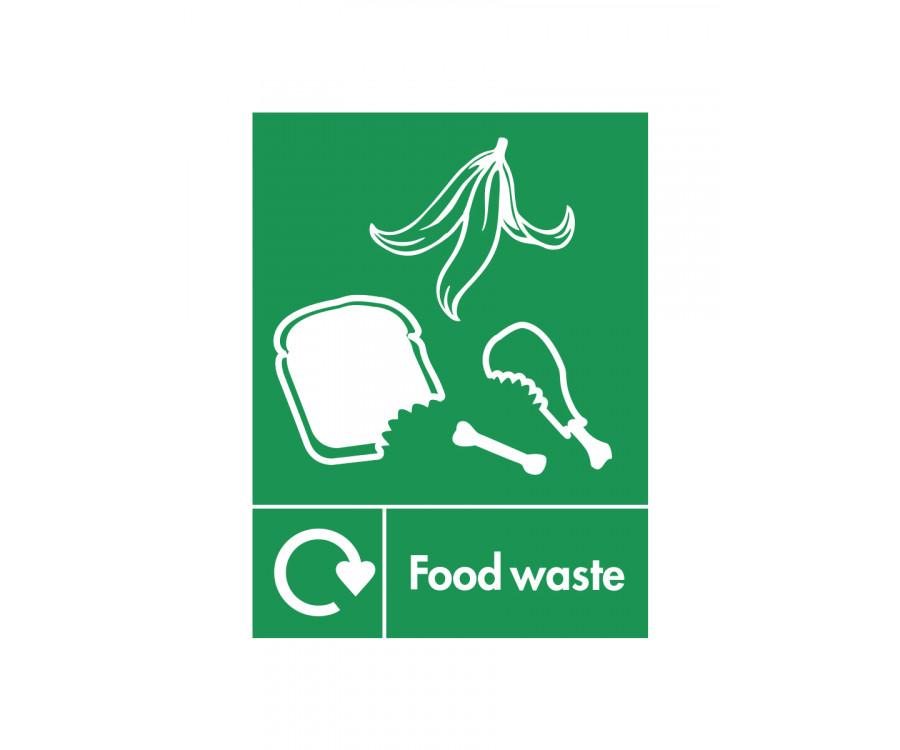 Food Waste Recycling Bin Sticker Se008 Equipment