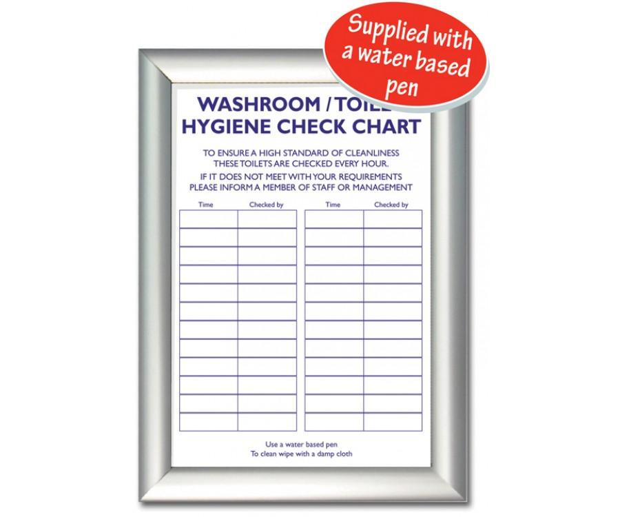 Sn001 Toilet Check List