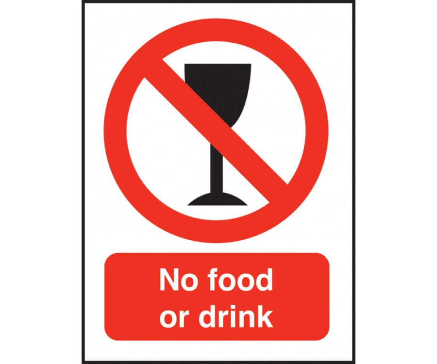 No Food Or Drink Swimming Pool Safety Notice Sps015
