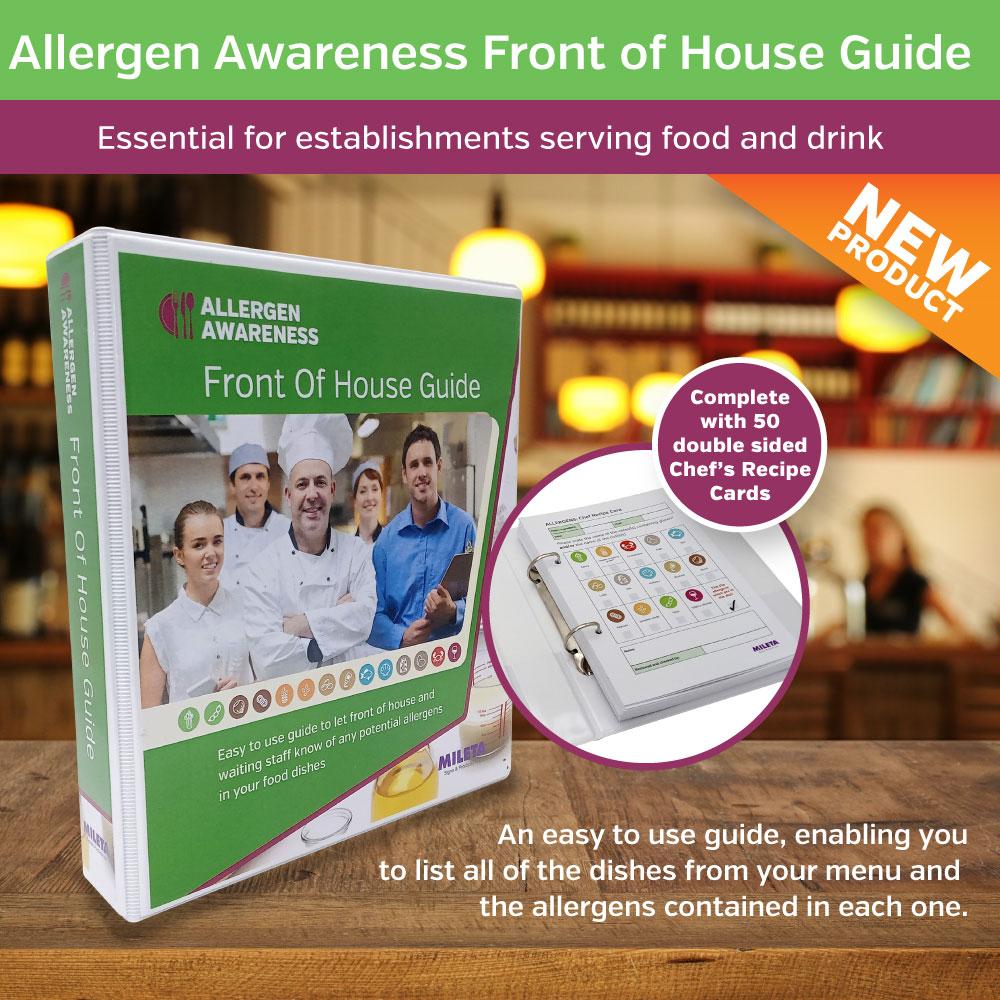 Allergy Awareness Chef Recipe Folder
