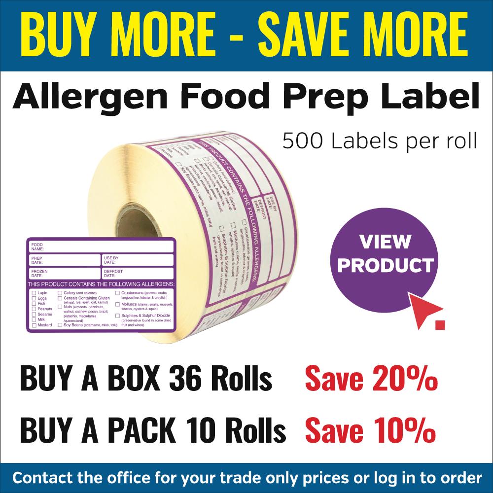Allergen Safety Food Labels