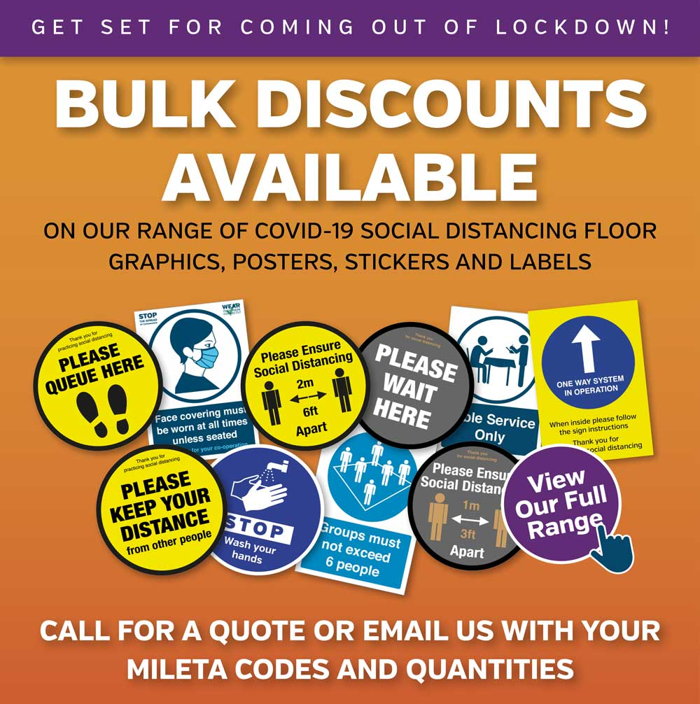 Bulk Discounts Available