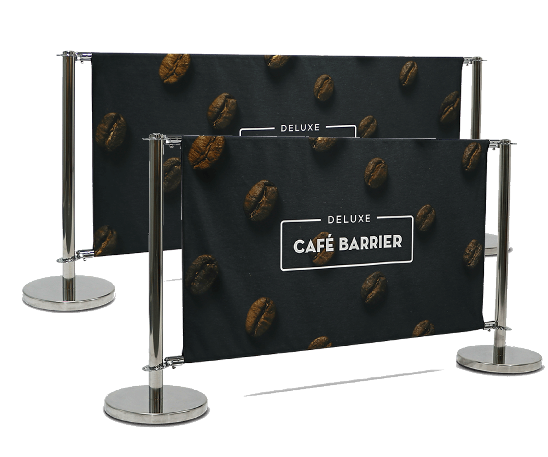 Deluxe Cafe Barrier System