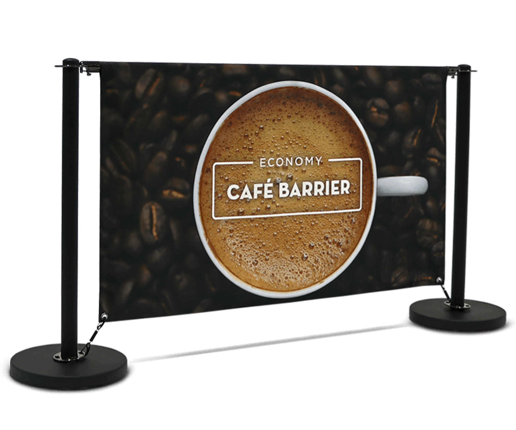 Economy Cafe Barrier System