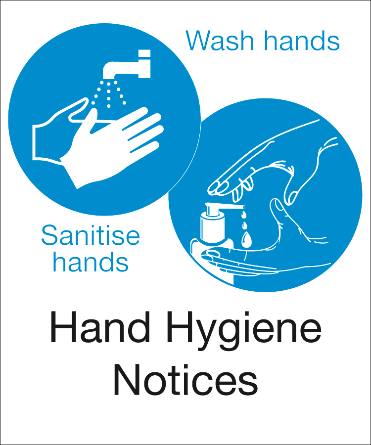 Wash Hands Signs & Posters