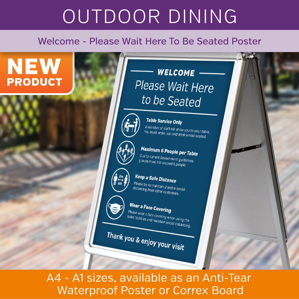 Outdoor Dining Posters