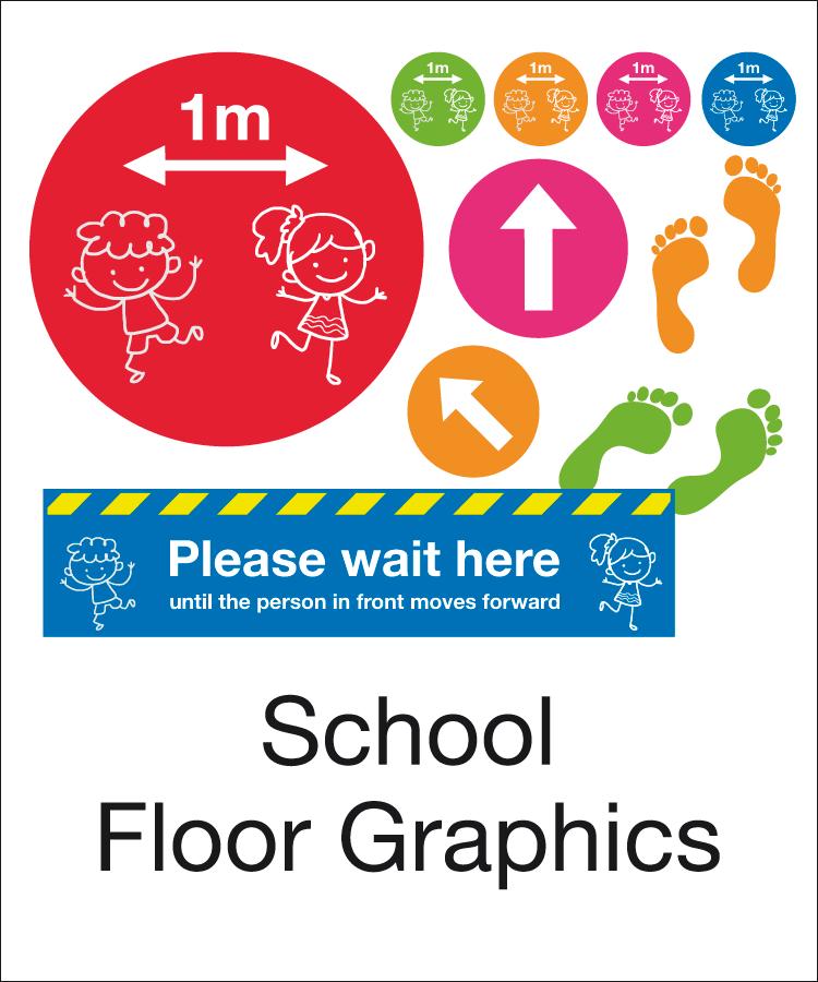 School Floor Markers & Graphics