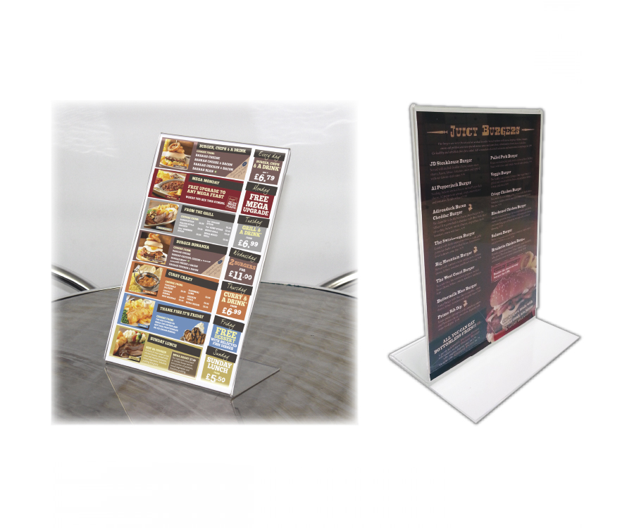 Clear Acrylic Poster Displays