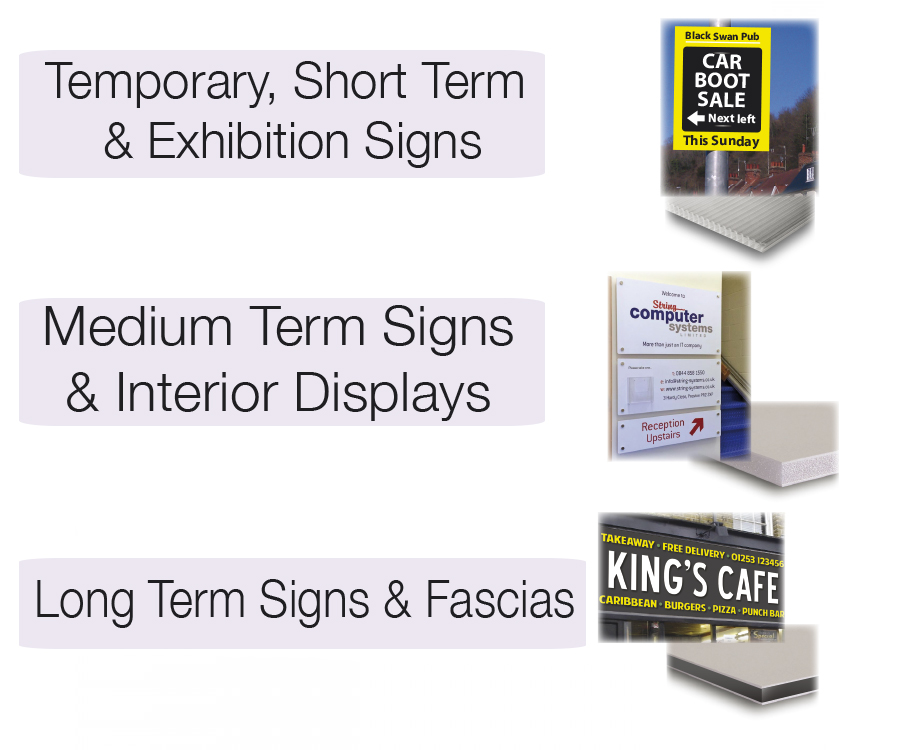Custom Made Signs & Notices