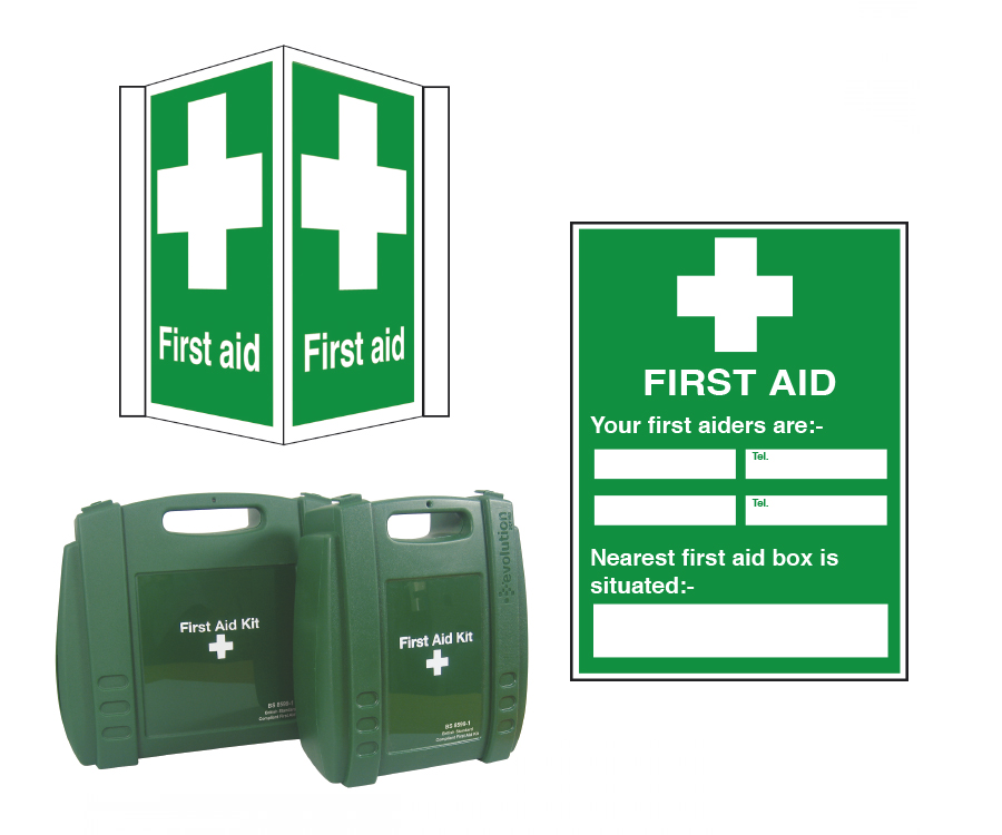 First Aid Kits, Signs & Posters