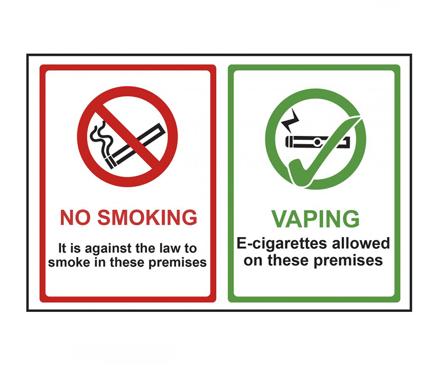 For or Against Vaping Notices