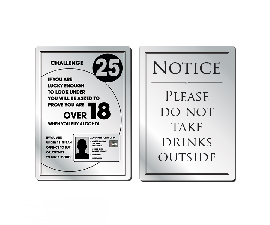 Modern Bar & Licensing Notices