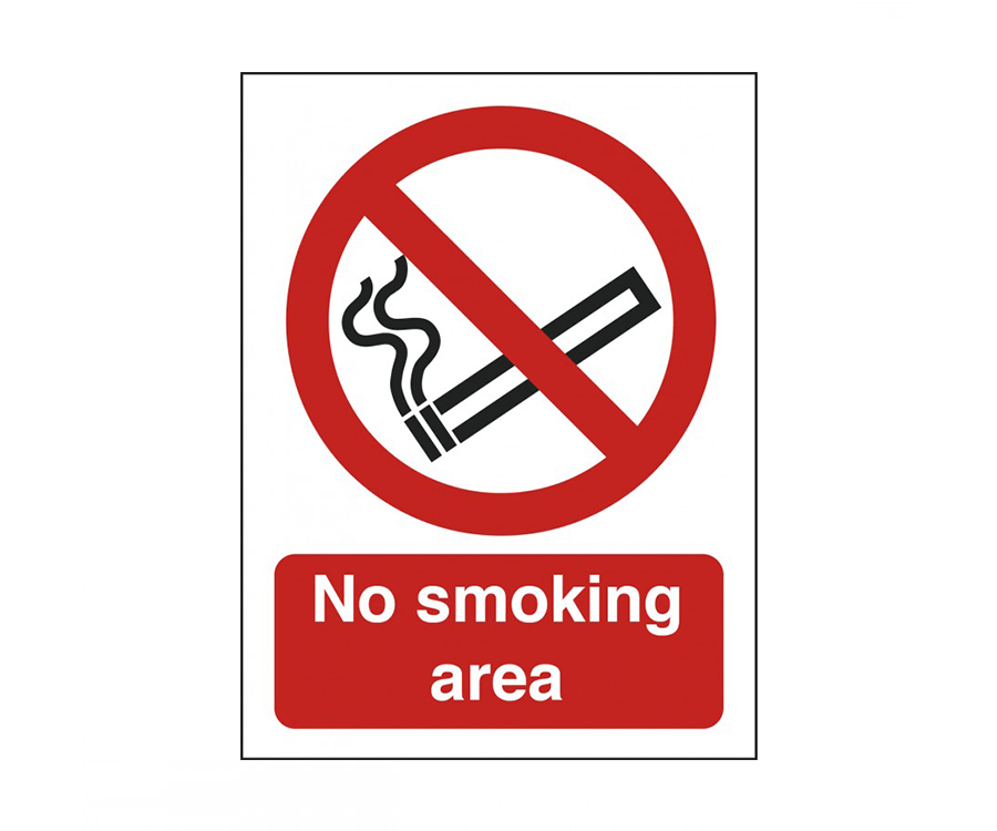 No Smoking Notices
