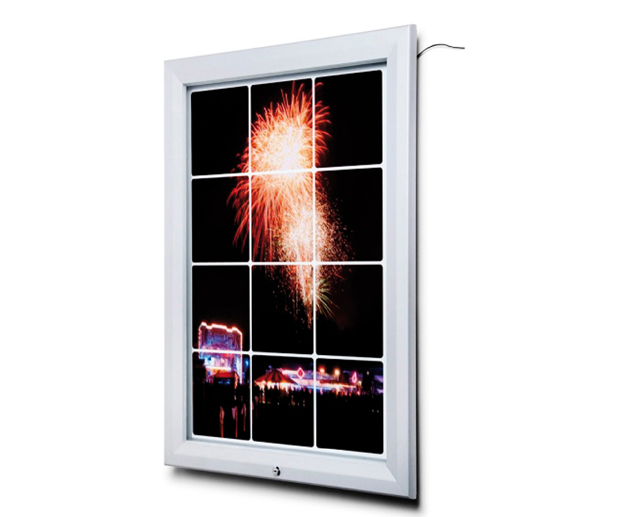 Outdoor Illuminated LED Poster Cases