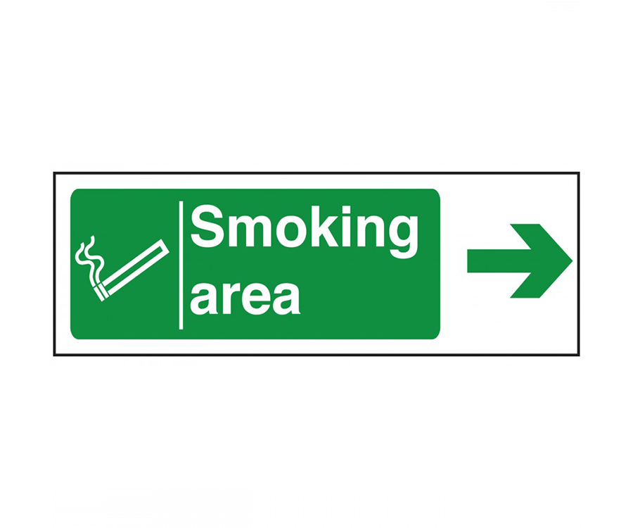 Smoking Area Notices