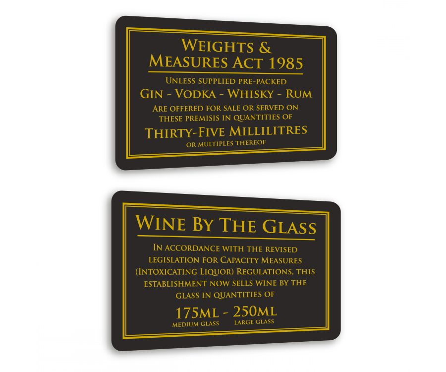 Traditional Bar & Licensing Notices