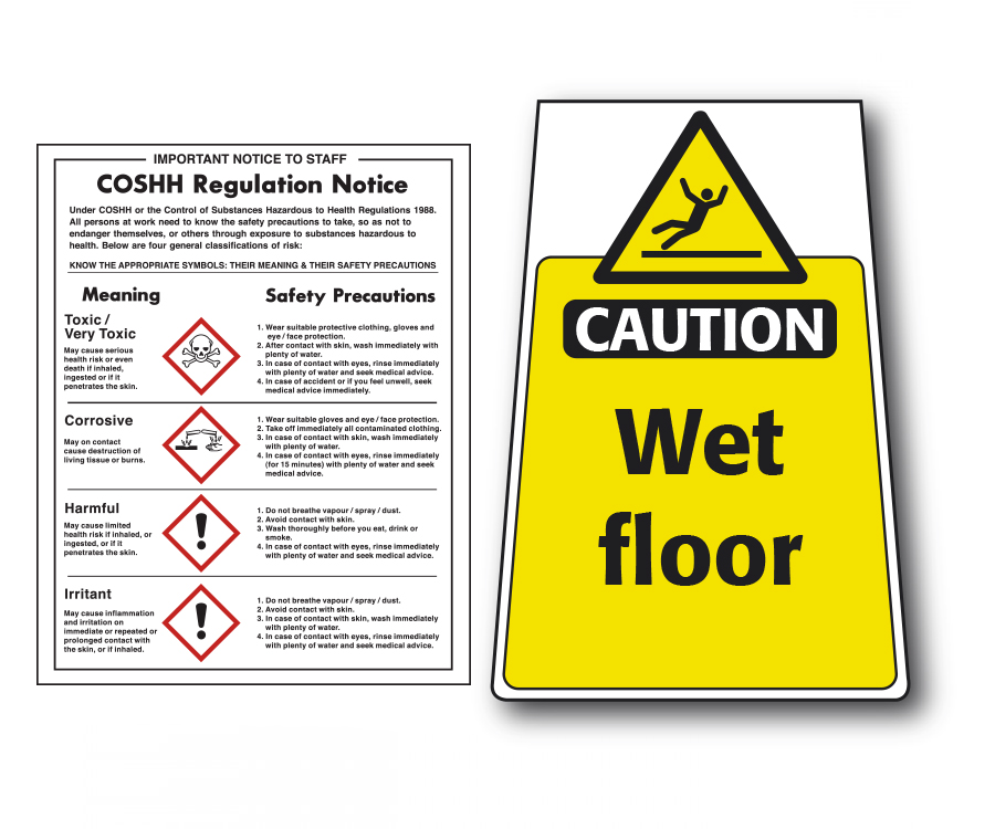 Warning Signs & Notices