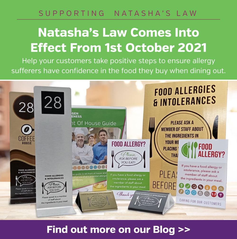 Natasha's Law - Allergen Awareness