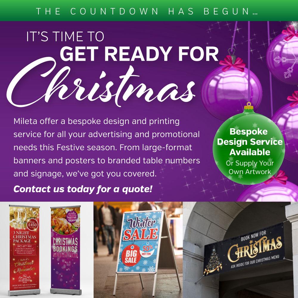 Bespoke Christmas Printing Services