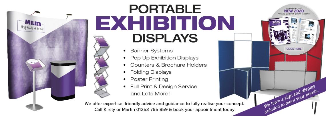 Portable Exhibition Displays