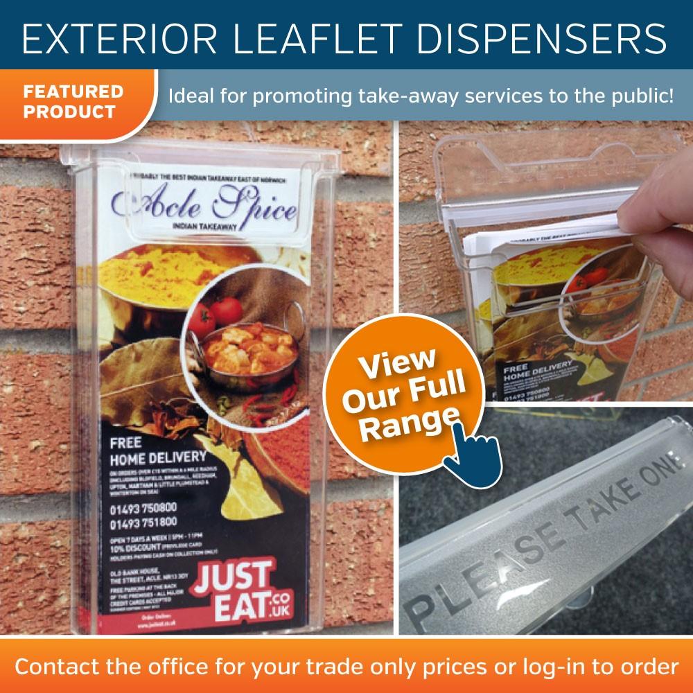 Exterior Leaflet Dispensers